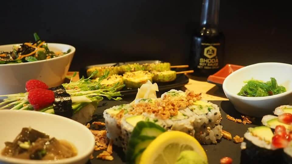menu japonais vegan a avignon